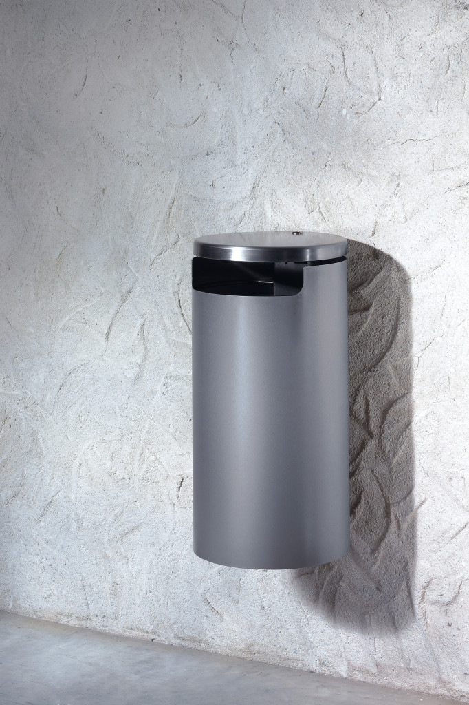 Ermes inox muro Abfallbehälter