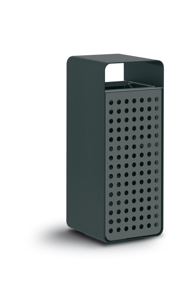 box lamiera Abfallbehälter