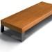 diamante wood Sitzbank