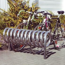 Omega Edelstahl Fahrradparker