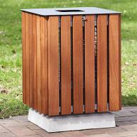 Abfallbehälter Nims 63l mit Deckel