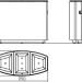 Aero Abfallbehälter Abmessungen