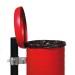 bravo red Abfallbehälter