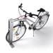 guardia Edelstahl Fahrradhalterung