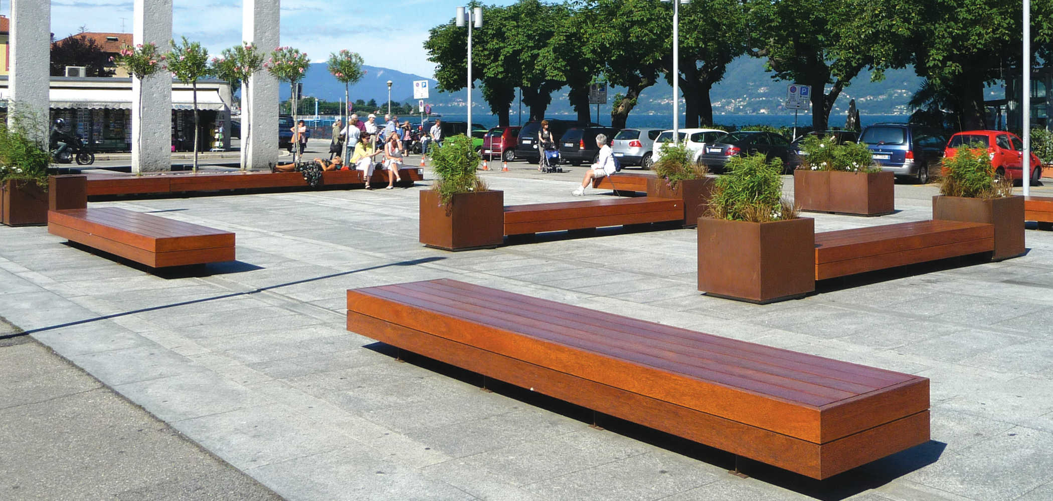Big harris connexurban for Arredo urbano