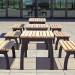 Tischgruppen Bitburg Füße aussen