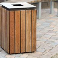 URBANIS Abfallbehälter Quadrat 50 Liter